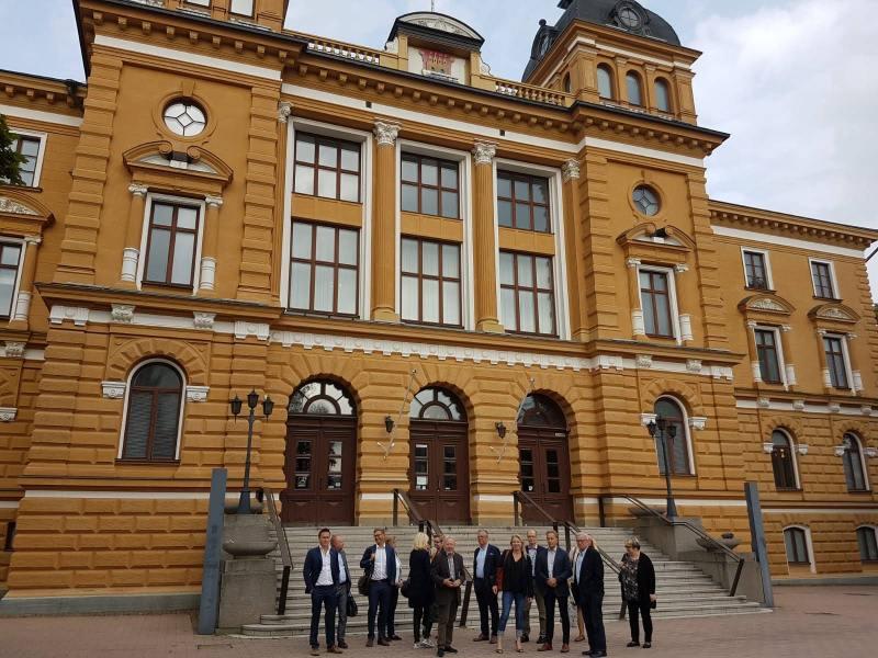 Oulun komea kaupungintalo.